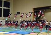 Cheerleading indoor performance