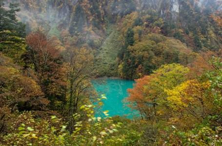 Emerald Kurobe River