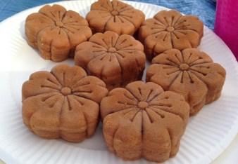 Sakura manju sweets