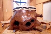 Pig nose drum