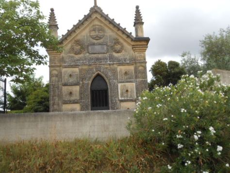 tomb in the vines