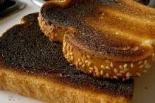 burnt crust