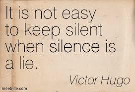 silence and lies