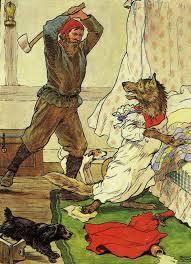 woodcutter fairy tale