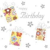 Bursdagskort, dugnadskort, Happy birthday til dugnadssalg. Dugnad til klassetur, idrettslag og russ. Kortdugnad.