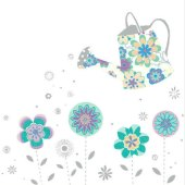 Blomster - bursdagskort - dugnadskort Celias Dugnad.