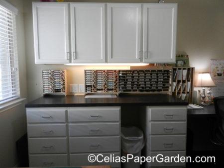organize, stamps, craft, celiaspapergarden, stamp n storage, stuio 1