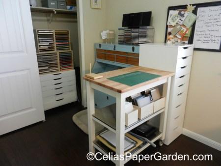 organize, stamps, craft, celiaspapergarden, stamp n storage, stuio 2