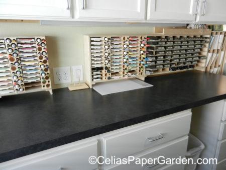 organize, stamps, craft, celiaspapergarden, stamp n storage, stuio 4