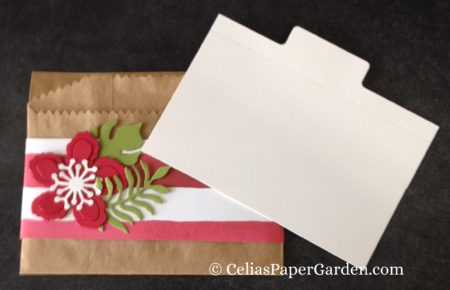 gift card enclosure treat bag celiaspapergarden.com 2