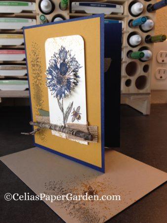 Touches of Texture card idea celiaspapergarden.com 2