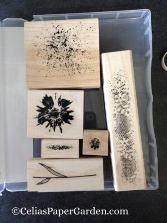 Touches of Texture card idea celiaspapergarden.com 6