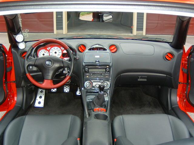 2001 Toyota Celica Interior Parts