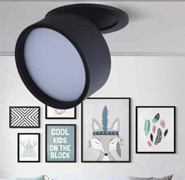 Super Sleek Foldable and Rotatable LED Ceiling Spotlight - CE Lighting