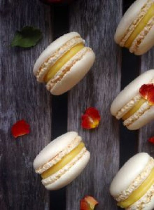 Macarons au fruit de la passion