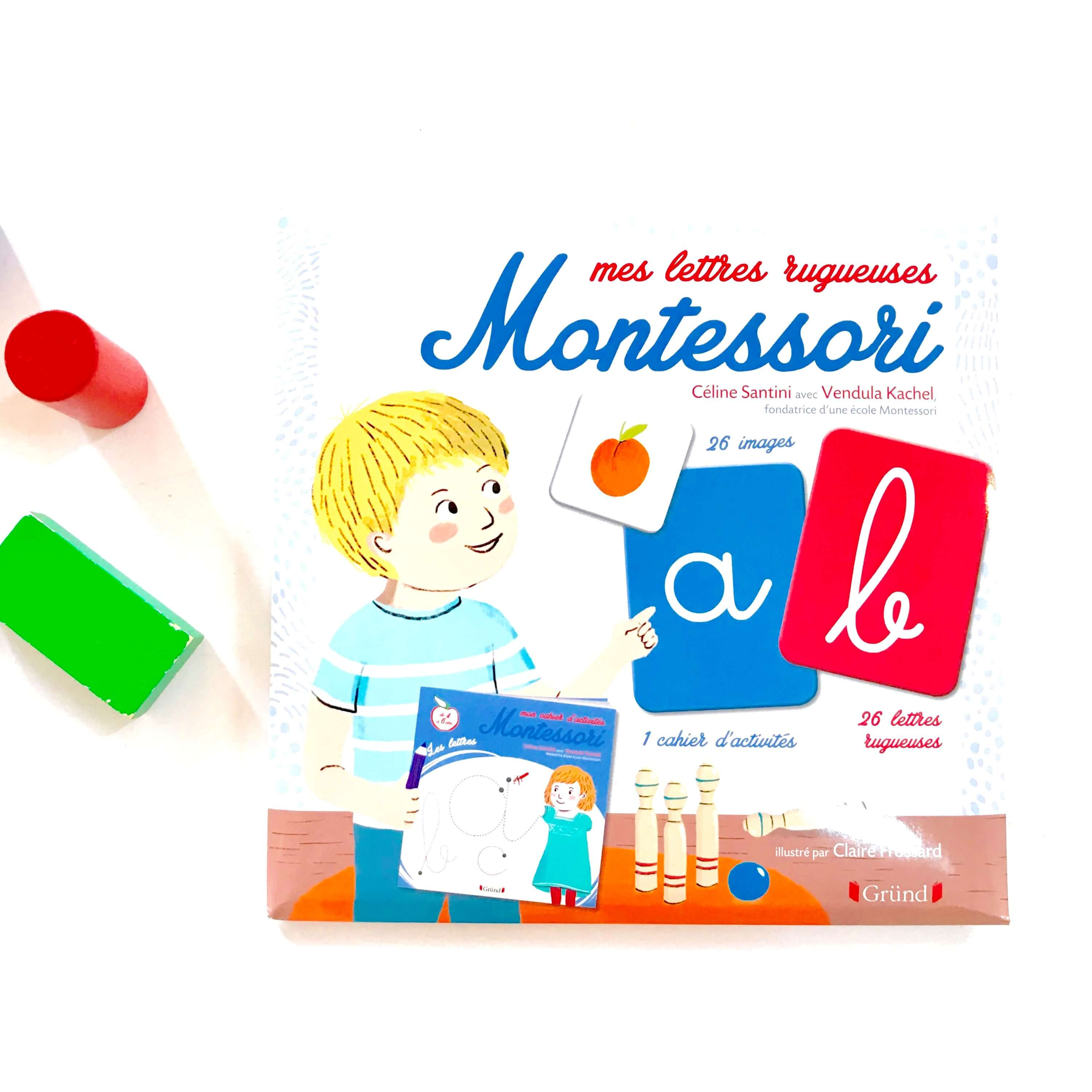 Mes lettres rugueuses Montessori