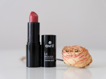 Maquillage bio & naturel : les jolis rouges d'Avril