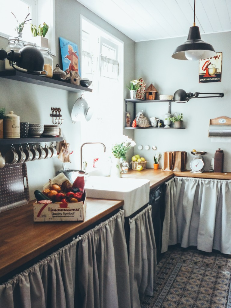 Notre Maison Des Annes 30 La Cuisine Avant Aprs Et Ses