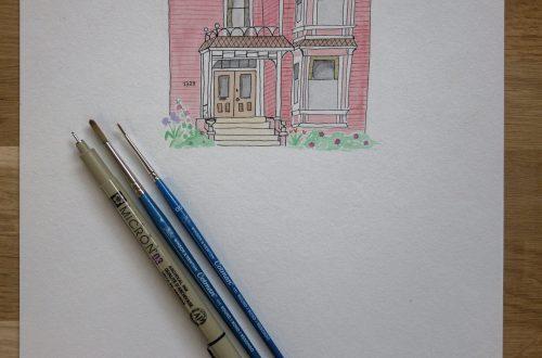illustration manoir charmed