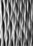 Grille en fonte en Intentional Camera Movement ICM en noir et blanc