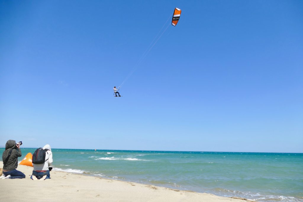 Big Air Champion Kitesurfing Leucate