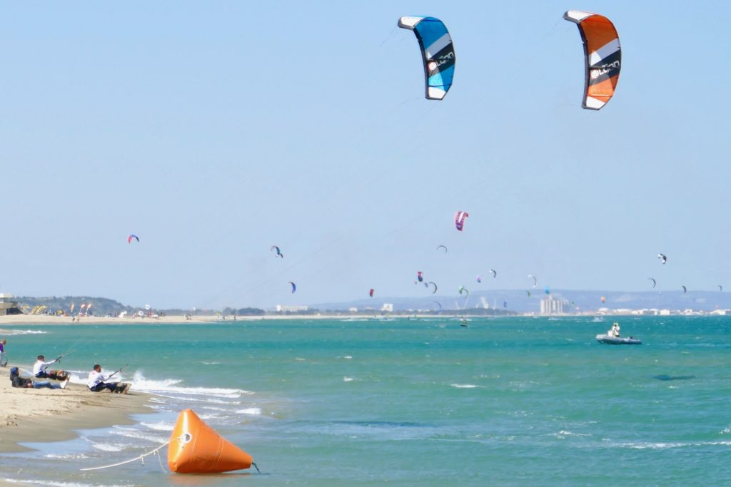 Big Air Champion Kitesurfing Leucate Peter Lynn Kites
