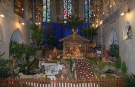 Jaslice v cerkvi sv. Danijela (kapela Žalostne matere Božje), foto: Maja Orehov
