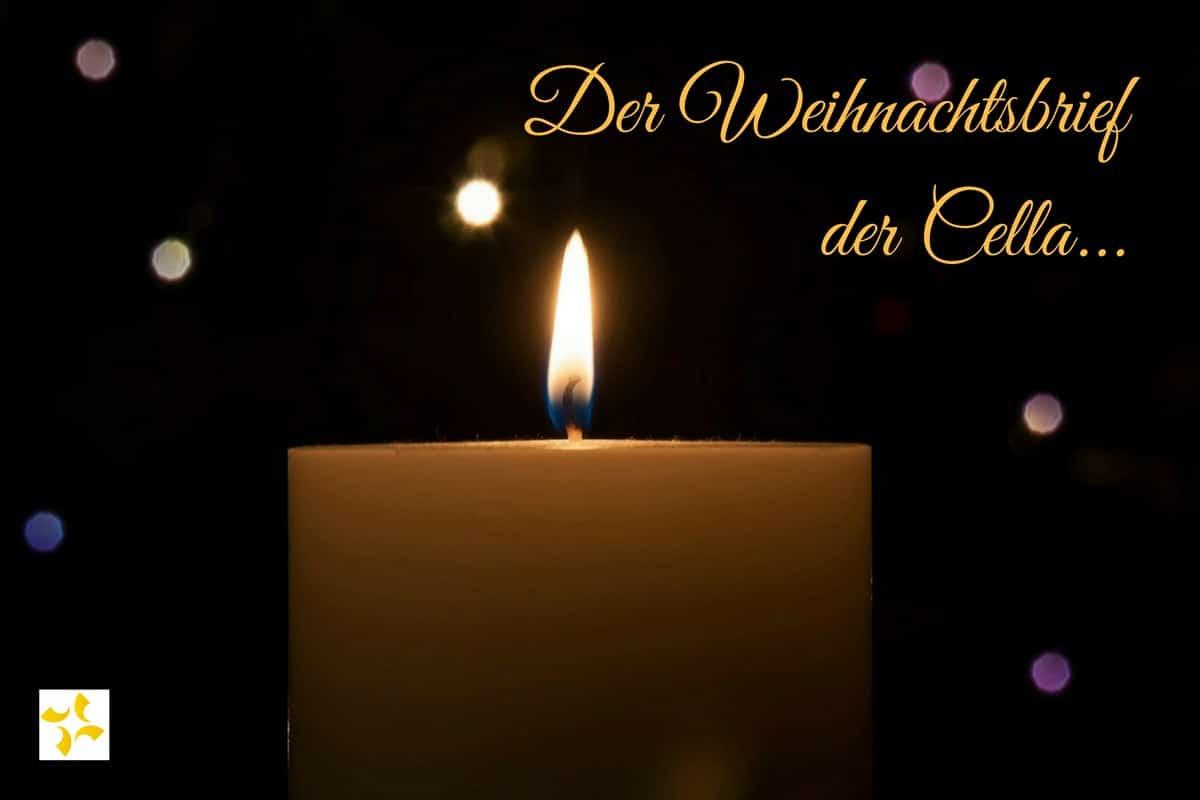 Weihnachtsbrief der Cella