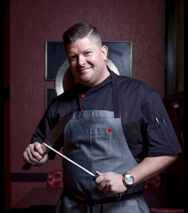 Jamie Knott Chef Owner Cellar335