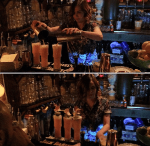 sailor jerry competition Aileen Drum in action cellar335