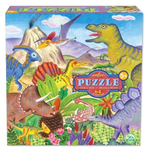 Dinosaur Island 64 Piece Puzzle