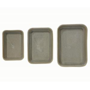Green Toned Stoneware Dishes