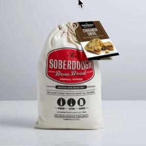 Cinnamon Swirl Soberdough Brew Bread