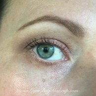 6 blended with MAC Uninterrupted as a transition, 9 - crease and outer corner, 4-lid, 1-base, Rimmel Nude liner, Benefit Rollerlash mascara, Anastasia Beverly Hills Dipbrow Pomade (medium brown).