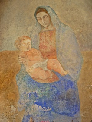 Affreschi Cappelletta Via Vittorio Emanuele II