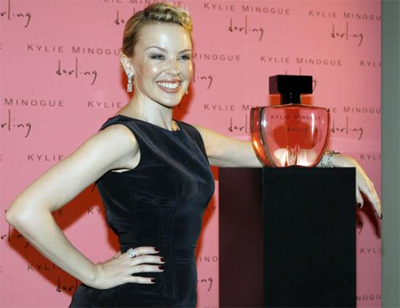 Kylie launches her Darling perfume