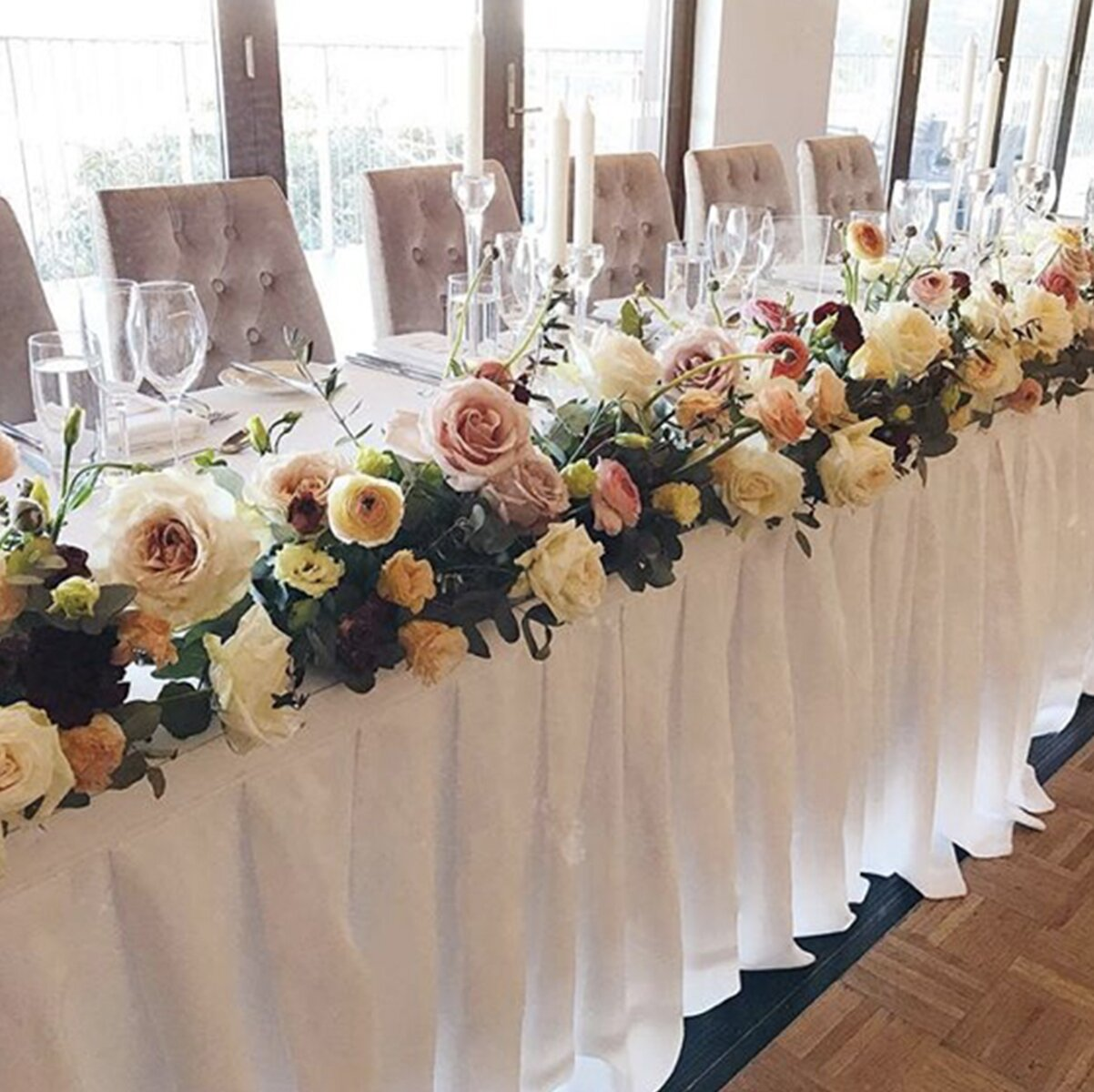 sydney wedding flowers prices affordable bridal table