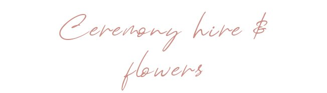 ceremony-hire-flower-packages-sydney