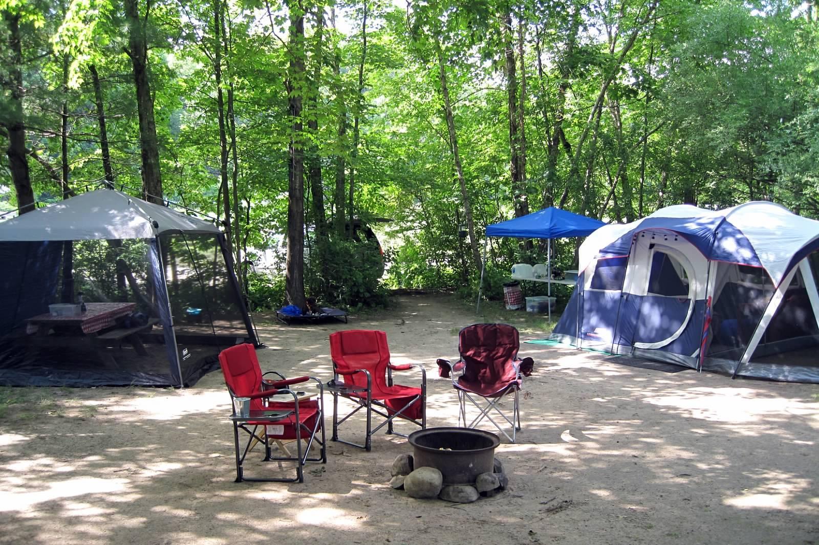 Dingmans Campground, Dingmans Ferry, PA (DE Water Gap Area