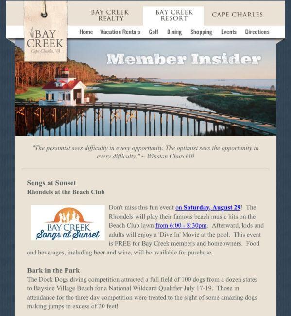 Golf Newsletter 1