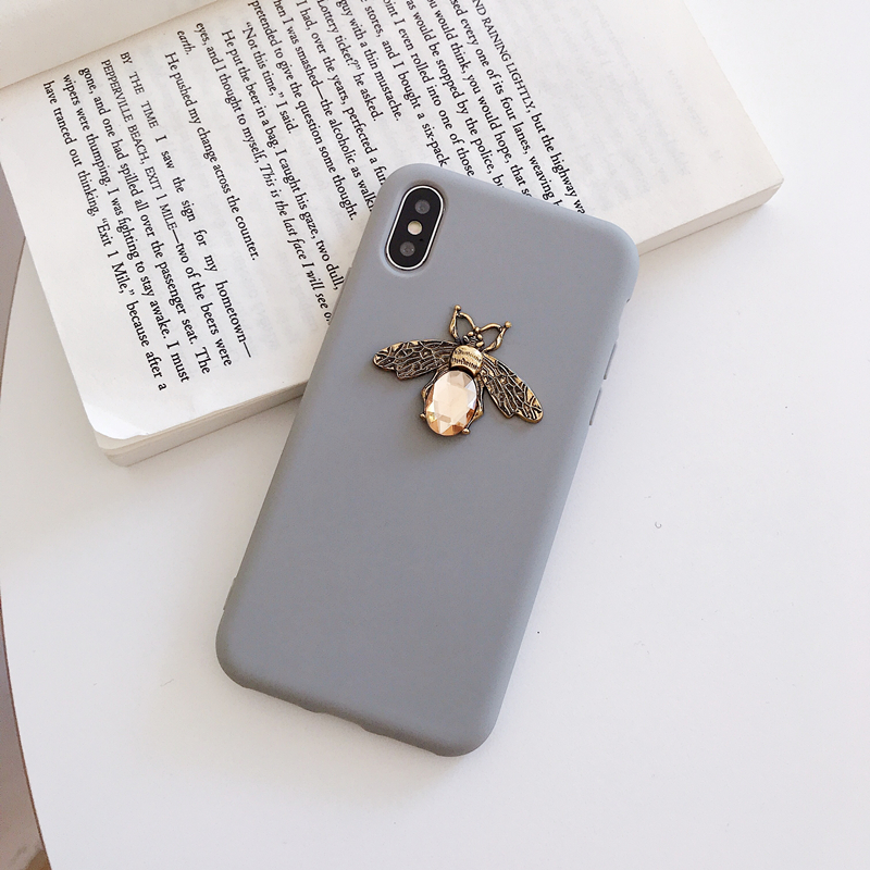 Diamond Bee Glitte soft case for iphone for samsung