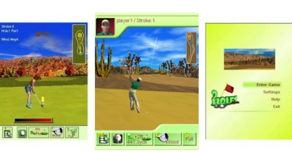 3D Nine Hole Golf 1.0