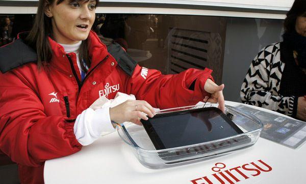 Fujitsu waterproof tablet