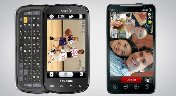 Samsung Epic 4G and HTC EVO 4G