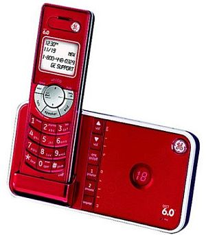 It Could Be The New GE Designer Cordless Phone   CELLPHONEBEAT