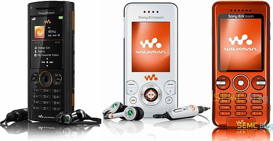 Three new Sony Ericsson Walkman phones officially launched ...