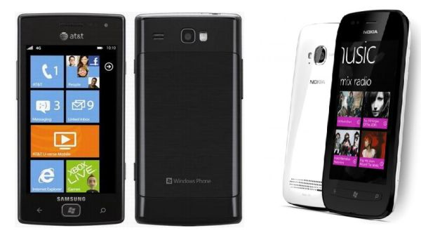 Windows Phone square off: Samsung Focus Flash vs. Nokia ...