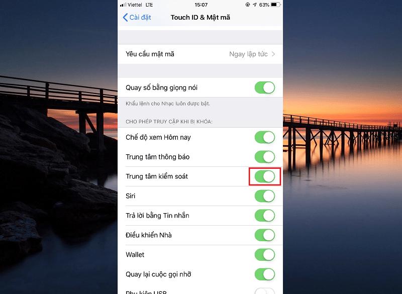 Sforum - Trang thông tin công nghệ mới nhất Untitled-46 Cách sửa lỗi không mở được Control Center từ Lock Screen trên iPhone/iPad