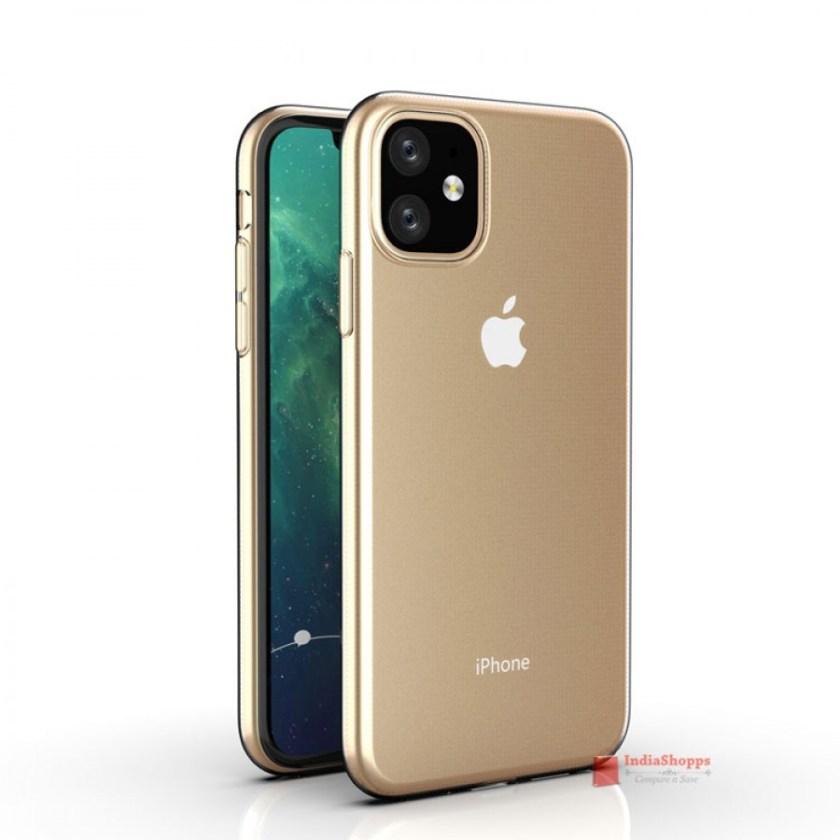 """Sforum - Trang thông tin công nghệ mới nhất anh-render-iPhone-XR-2019-1 Đến lượt iPhone XR 2019 lộ diện: Màn hình """"tai thỏ"""", 4 tùy chọn màu sắc, camera sau kép"""