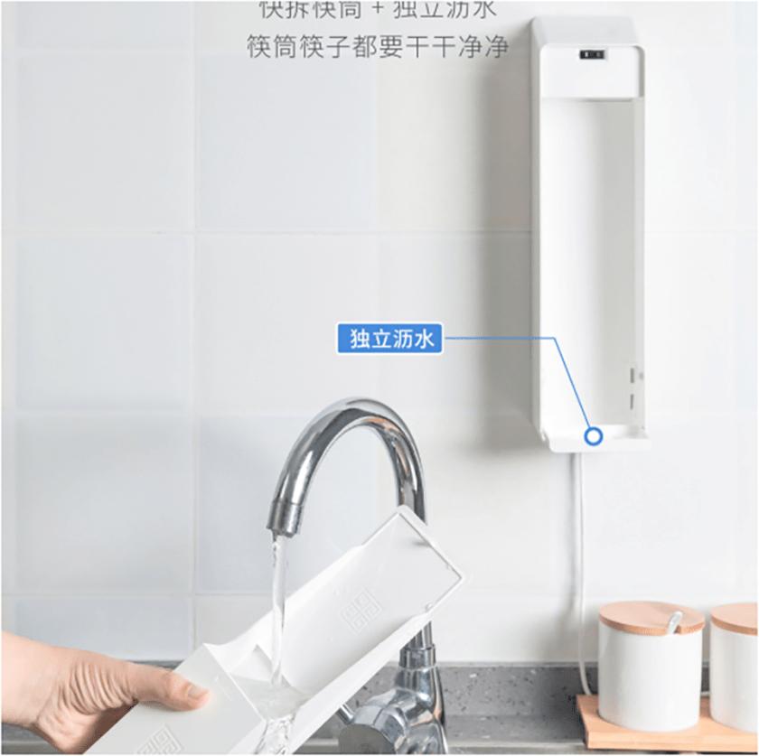 Sforum - Trang thông tin công nghệ mới nhất xiaomi-smart-chopsticks-4 Xiaomi giới thiệu ống khử trùng đũa ăn thông minh, giá chỉ từ 334 ngàn đồng
